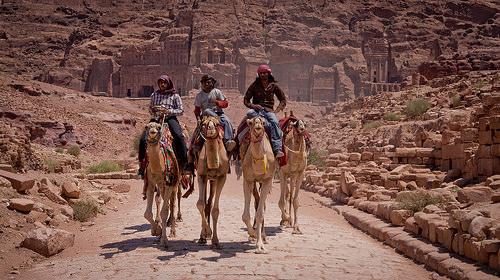 petra jordan beduins (Photo: Alexwing on Flickr)