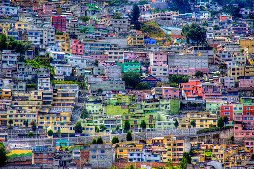 city colors quito ecuador downtown hill (Photo: ShanLuPhoto on Flickr)