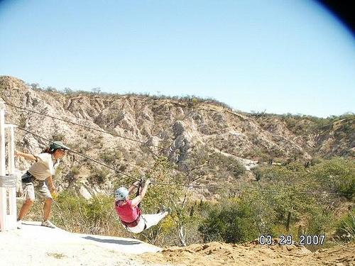 ziplining (Photo: bevbusse on Flickr)