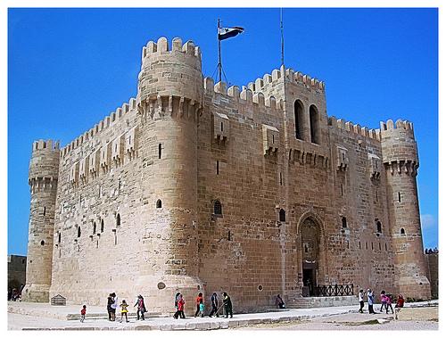 old building castle architecture mediterranean citadel... (Photo: Mohamad Khedr on Flickr)